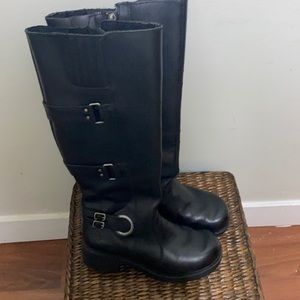 Harley Davidson tall leather boots